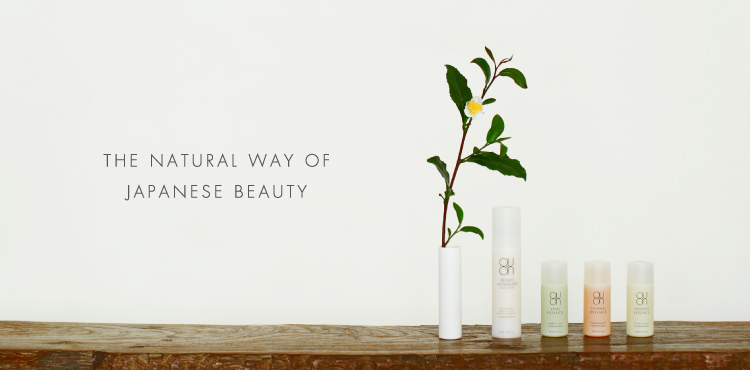 THE NATURAL WAY OF JAPANESE BEAUTY