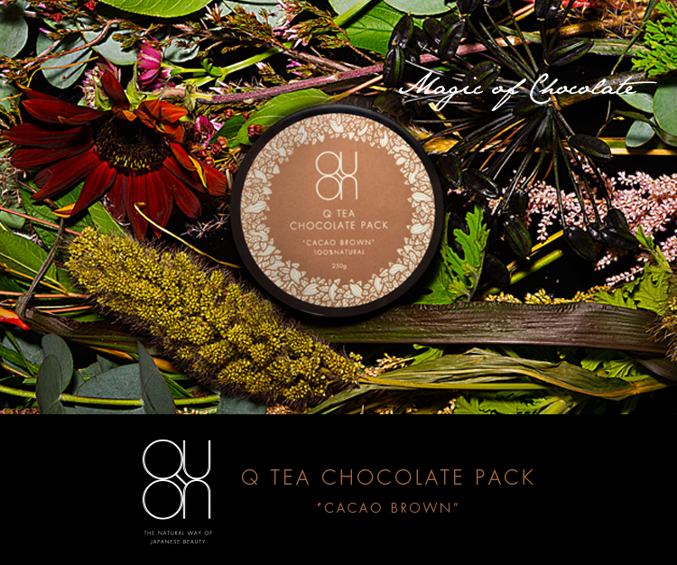 Magic of Chocolate - Q TEA CHOCOLATE PACK / CACAO BROWN
