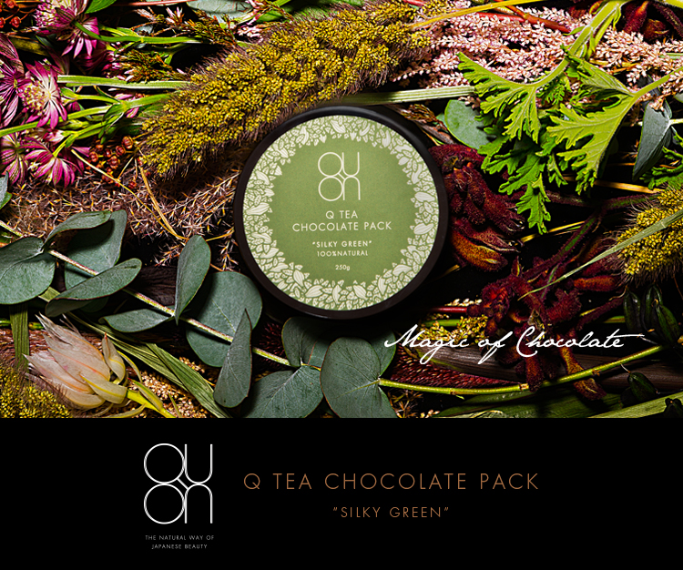 Magic of Chocolate - Q TEA CHOCOLATE PACK / SILKY GREEN