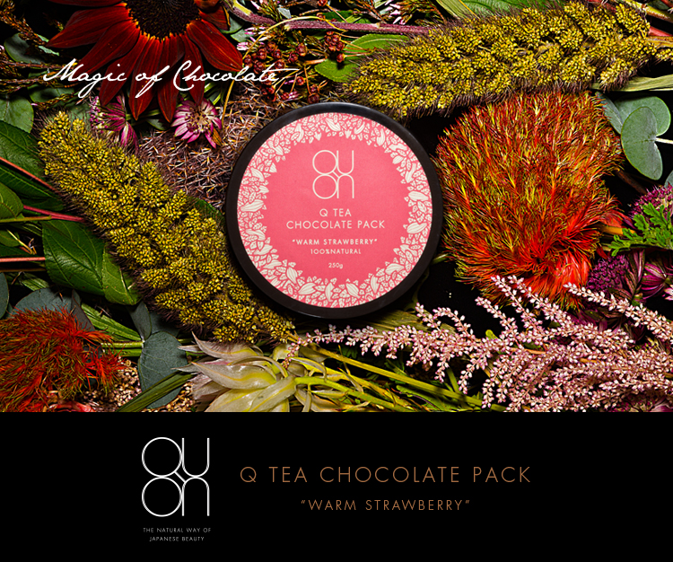 Magic of Chocolate - Q TEA CHOCOLATE PACK / WARM STRAWBERRY